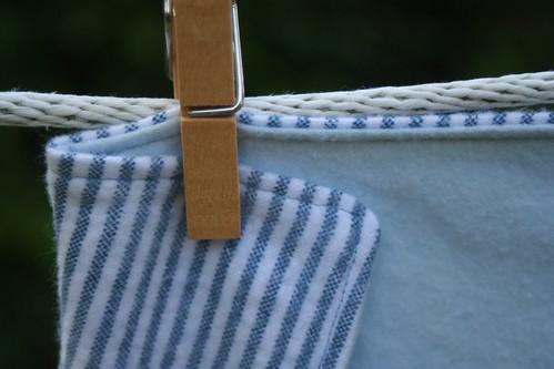 Flannel Baby Blanket (detail)