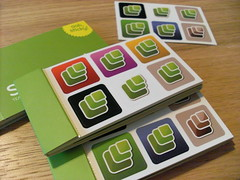 Microformats Moo Stickers
