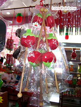 Raya @ Cameron Highlands (54) strawberries stick