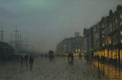 Liverpool from Wapping, Grimshaw