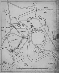 Plan, Red River and Assiniboine in 1836 (1863)