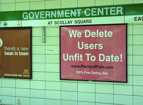 We delete users unfit to date!