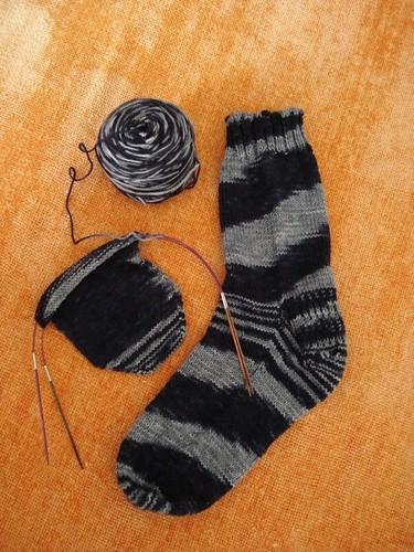 Tempted Yarns Paris Socks