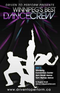 DTP x BUNDOWN present WINNIPEG'S BEST DANCE CREW