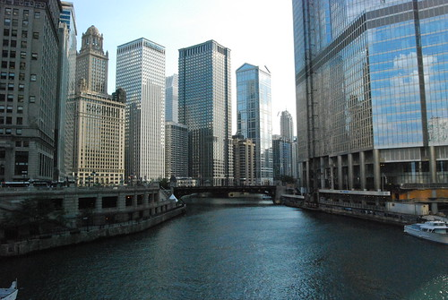 Skyline from the Chicago River