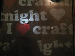 Notting Hill Arts Club Craft Night, 7 July, 2008.