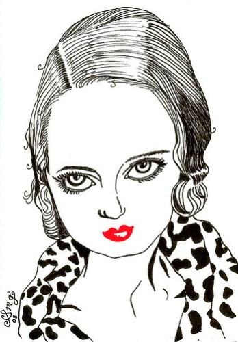 Bette Davis - Ruby Red Lips