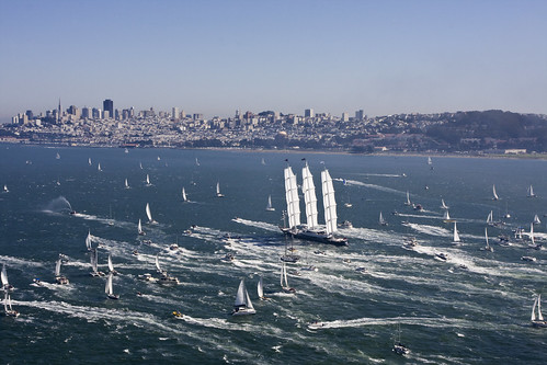 Maltese Falcon in San Francisco by Jack French