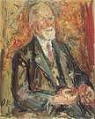 Oskar Kokoschka. Retrato de Theodor Körner, 1949.