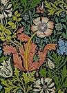 William Morris. Papel de pared, 1896.