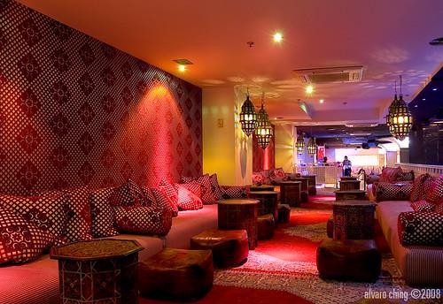 El primer fotoreportaje que hice para la revista bar&restaurante en el restaurante y discoteca bangaloo
