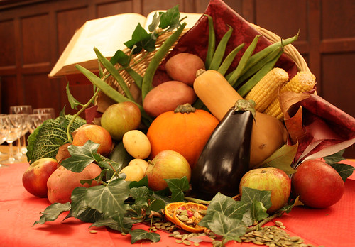Thanksgiving Cornucopia by Lawrence OP.