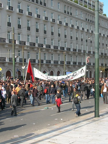 20 Protest in Athens