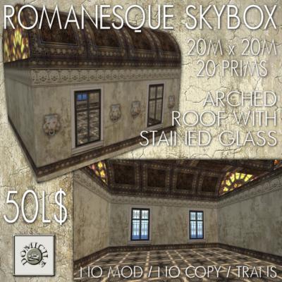 Domicile Romanesque skybox