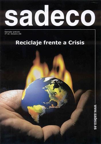 Sadeco reciclaje frente a crisis.