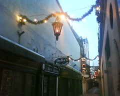 Xmas lights on careys lane