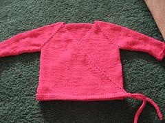 Baby kimono sweater