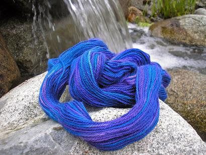 Krystal Acres Royal Baby Alpaca Purple and Blue (5)
