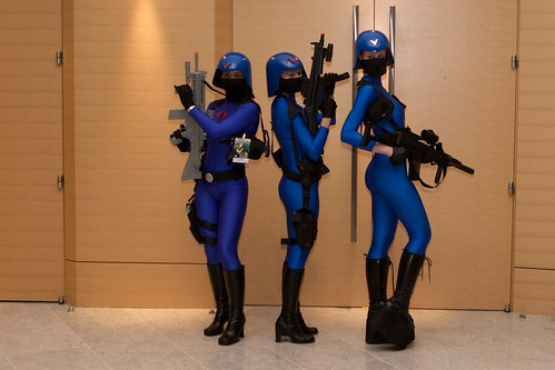Cobra soldier costumes at Dragoncon 2008 by Fordan.