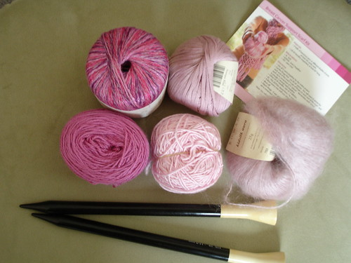 Breast Cancer Scarf Materials