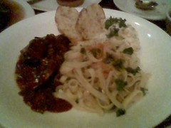 Lamb pasta