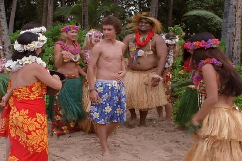 Shia LaBeouf Shirtless in Even Stevens