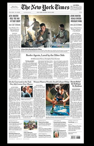 The New York Times, Page 1