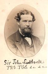 Portrait of John Lubbock (1834-1913), Biologis...