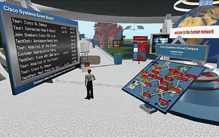 IBM Concierge in Second Life