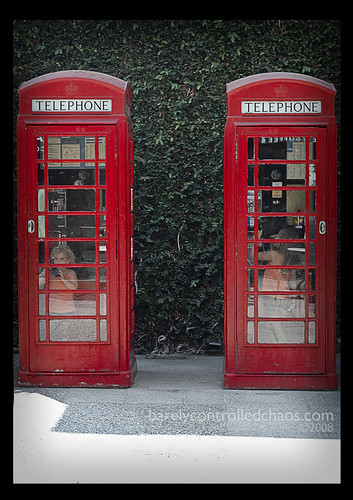 Dueling Phonebooths