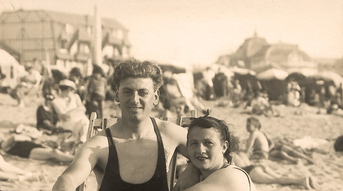 Mes parents en 1936
