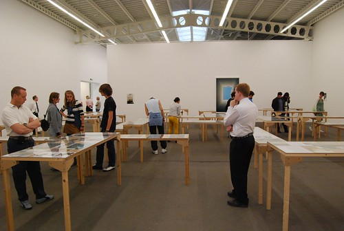 wolfgang tillmans in hamburger bahnhof : documents against creationism and other stupid lies
