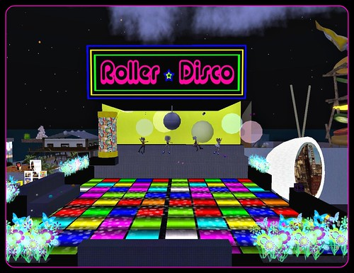 Roller Disco at Blasts from the Past