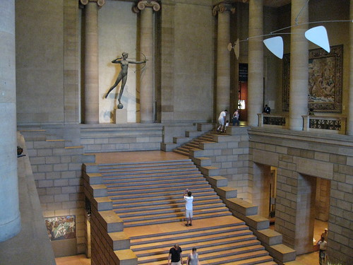 Diana, Saint-Gaudens, Great Stair Hall