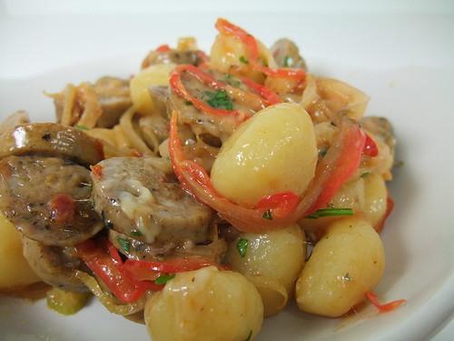 Sausage Gnocchi