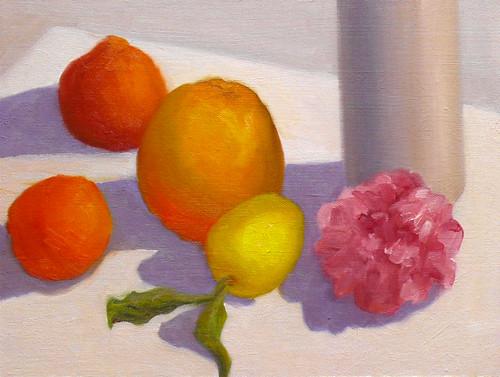 Citrus & Camelia Plein Air