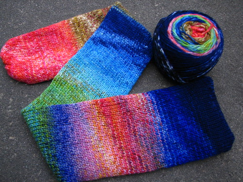 A Slice of Heaven and Earth Sock Yarn