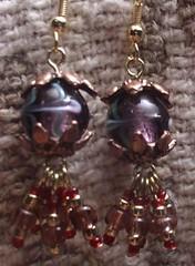 Lantern With Skirt earrings