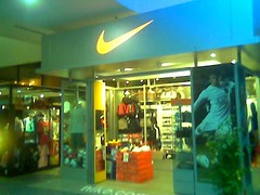 Penang airport Nike shop