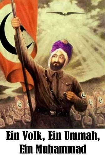 Muhammad as Hitler