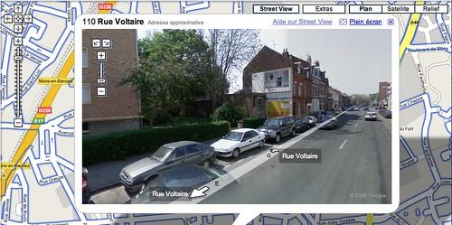 Google Maps Street View à Lille