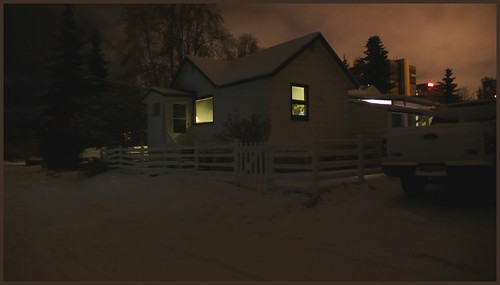 The rare small house remaining in a close to downtown Anchorage neighborhood.