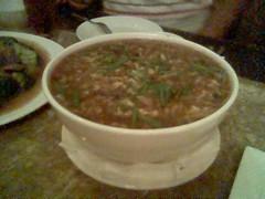 Sea cucumber soup