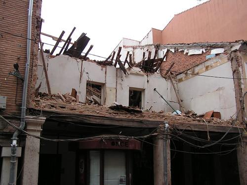 Derrumbe en la calle Mayor (III)