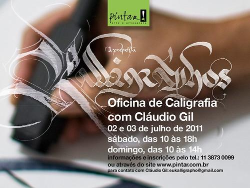 Kalligráphos + Pintar by Cláudio Gil