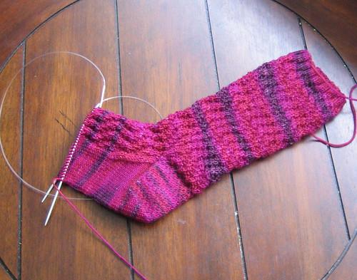 Wavy Rib Sock
