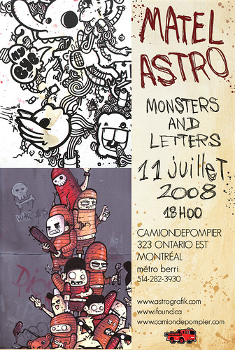 Monsters and Letters - Astro et Matel
