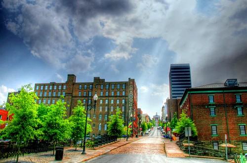 Rain on 9th Street