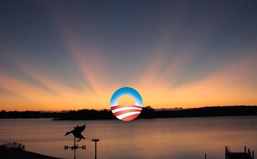 Obama Sunrise