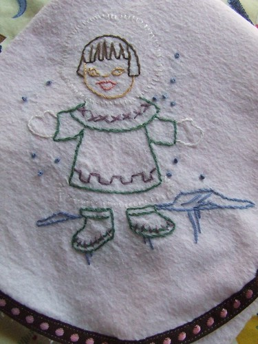 eskimo blanket close up